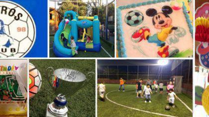 Τα πιο όμορφα παιδικά πάρτυ στο CΟUROS FC