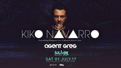 Kiko Navarro I Agent Greg I Sat 01 July Bolivar Beach Bar