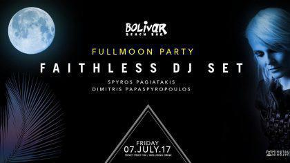 Faithless Dj Set Fri 7 July Full moon Bolivar Beach Bar