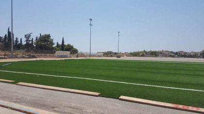 Γήπεδο Τραχώνων Αλίμου: Καλορίζικος ο νέος χλοτάπητας (ΕΙΚΟΝΕΣ)