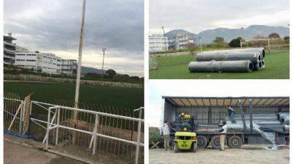 Άλιμος: Λίφτινγκ και στο γήπεδο της Γερουλάνου (ΕΙΚΟΝΕΣ)