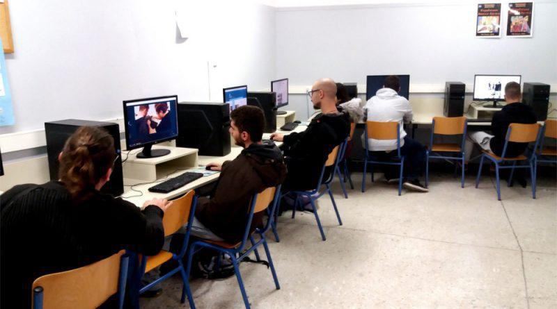Το ΕΠΑΛ Αλίμου διαθέτει ένα από τα πλέον σύγχρονα εργαστήρια Πληροφορικής