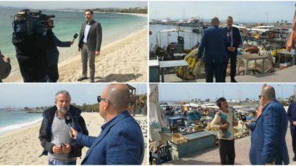 Αισιόδοξοι για την κατάσταση των ακτών οι δήμαρχοι Αλίμου και Γλυφάδας (VIDEO&ΕΙΚΟΝΕΣ)