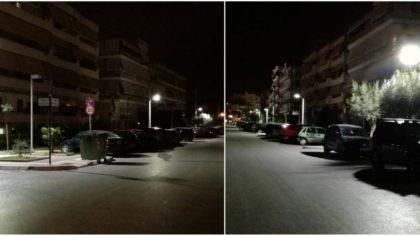 Άλιμος: Έβαλαν φωτισμό led και στην Βενιζέλου, στο Άνω Καλαμάκι (VIDEO&ΕΙΚΟΝΕΣ)